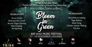 Bloom In Green Art and Music Festival
