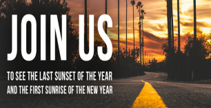 Get Out to See the Last Sunset Of The Year and The First Sunrise