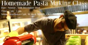Homemade Pasta Making Class