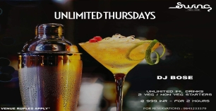 Unlimited Thursdays ft DJ Bose