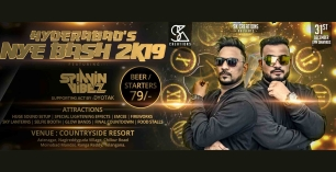 Hyderabad's NYE Bash 2k19