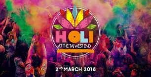 Holi 2018 at Taj Westend