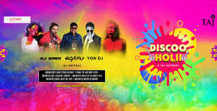 Discoo Holi 2018 - Taj Gateway Hotel Garden