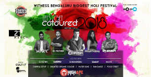 Let's Get Coloured ed 2.0 - Holi Festival Celebration 2018 - 2nd March at Topsy turvy