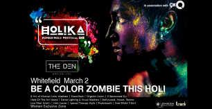 HOLIKA Zombie Holi Festival 2018 - The Den Whitefield