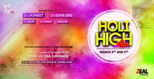 Holi High - 2nd March at High Ultra Lounge