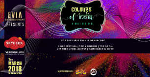 Colours Of India - Day 1 at VR Bengaluru
