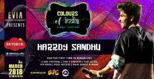 Colours Of India with Harrdy Sandhu - Day 2 at VR Bengaluru