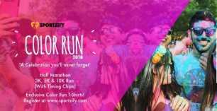 Color Run 2018 at Decathlon
