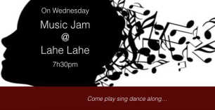On Wednesday Music Jam at Lahe Lahe