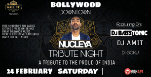 Bollywood Downtown Nucleya Tribute Night