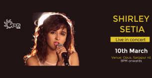 Shirley Setia Live at Opus Bangalore