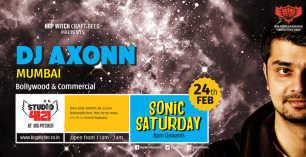 Sonic Saturday ft. DJ Axonn