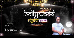 Desi Bollywood Night DJ Sandy