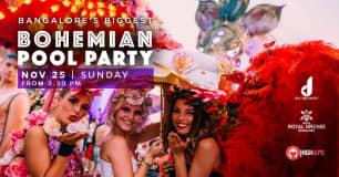 Biggest Bohemian Pool Party In Bangalore!