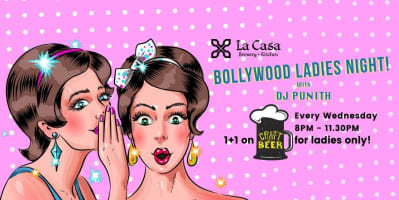 Bollywood Ladies Night ft DJ Punith