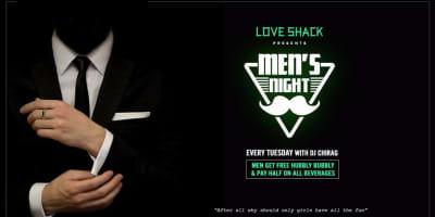 Men's Night with DJ Chirag