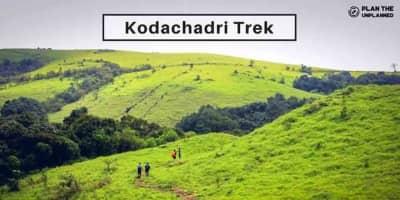 Kodachadri  Trek - Jasmine of The Hills