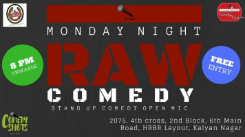 Monday Night Raw- Stand Up comedy Open Mic