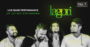 Lagori Band Playing Live at Pallet.