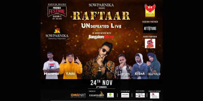 RAFTAAR – UNDEFEATED LIVE
