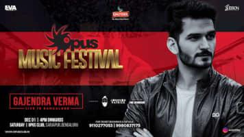 Gajendra Verma Live In Bangalore