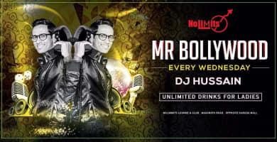 Mr. Bollywood Every Wednesday