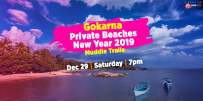 Gokarna Private Beaches - New Year 2019 | Muddie Trails