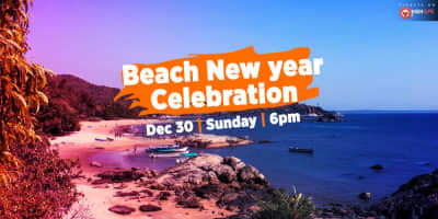 Beach New Year Celebration In Gokarna