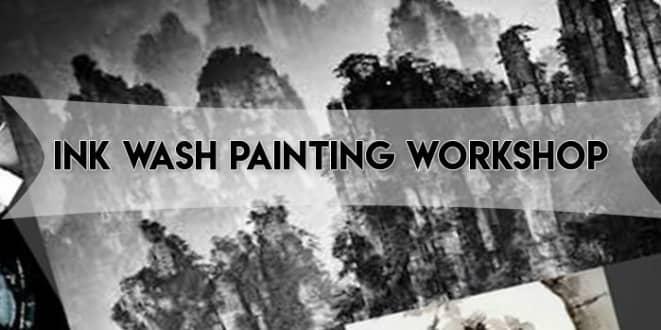 Ink Wash Painting Workshop