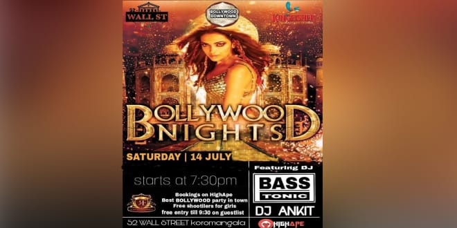Bollywood Night Ft DJ Bass Tonic