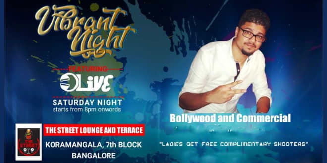 Weekend Bollywood Vibrant Night