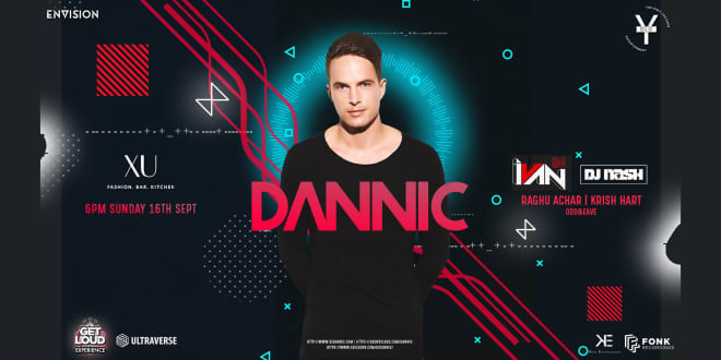 Dannic India Tour