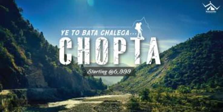 Chopta Tungnath -  Camping & Trekking With WanderOn