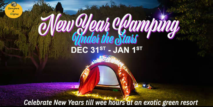 New Year Camping Under The Stars