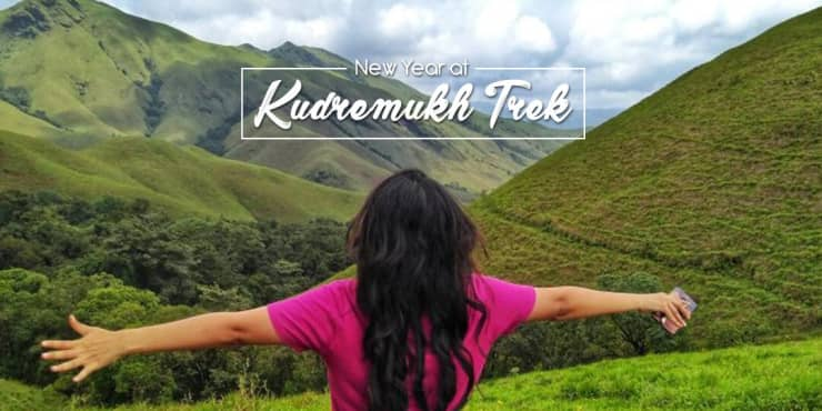 New Year in Kudremukh | Bandaje Falls Trek Via Ballarayana Durga Fort