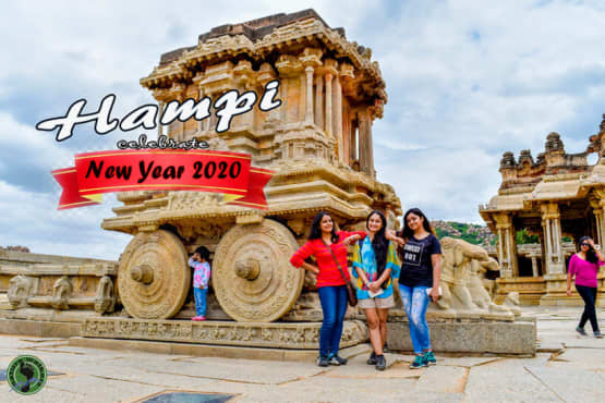 Secret Camping And Hampi Cycle Exploration For New Year 2020