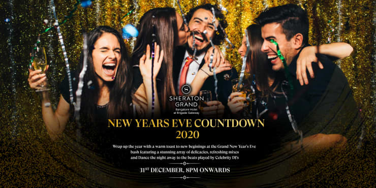 New Years Eve Countdown 2020