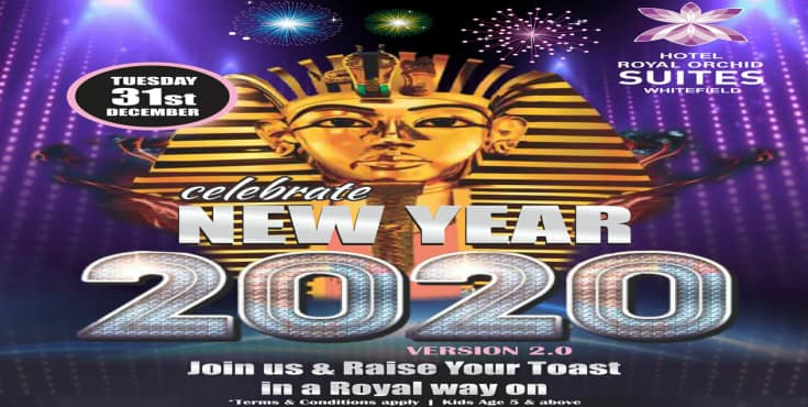 New Year Bash 2020 - Royal Orchid Suites