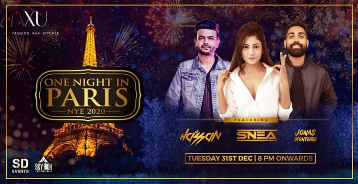 One Night In Paris NYE 2020