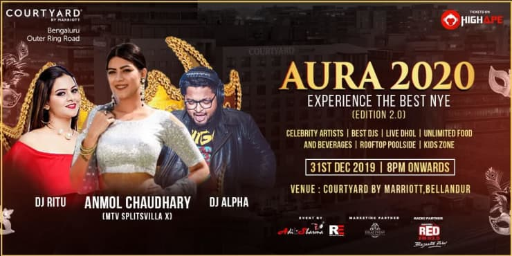 AURA 2020 New Year Party