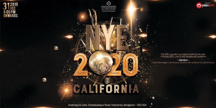 New Years Eve 2020 At California