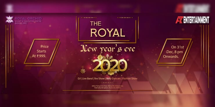 The Royal New Year's Eve 2020 - Royal Orchid