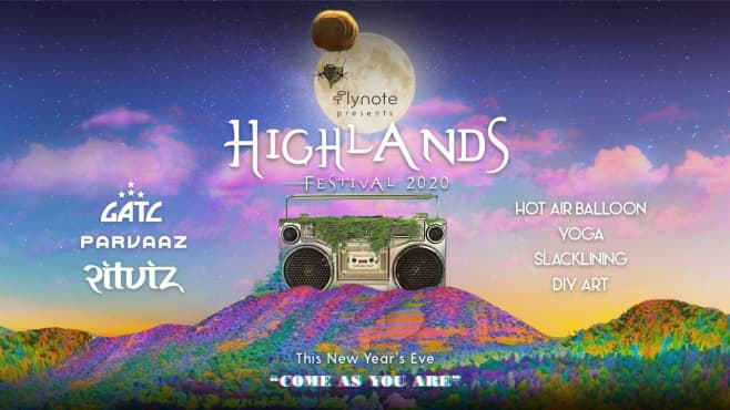 Highlands Festival 2020 Ft. Ritviz