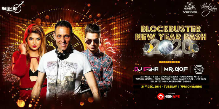 Blockbuster New Year Bash -2020