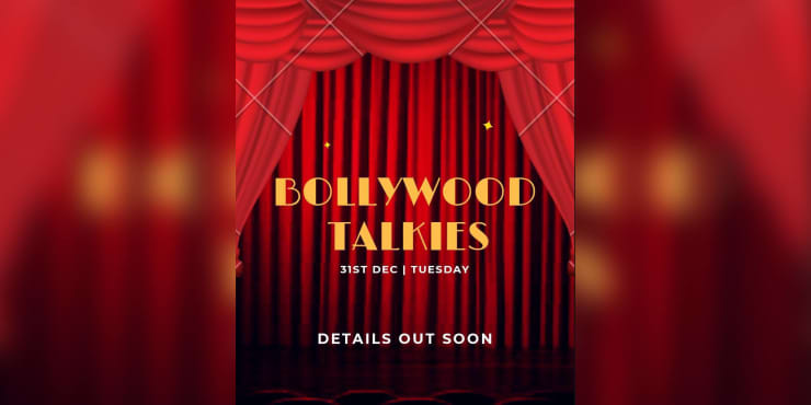 Bollywood Talkies NYE 2020