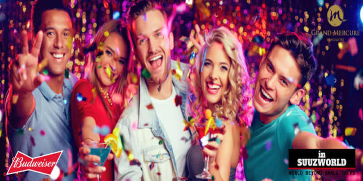 Suuz New Year's Eve Party At Grand Mercure Bangalore