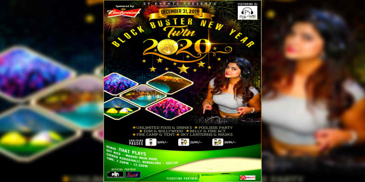 Blockbuster New Year Party