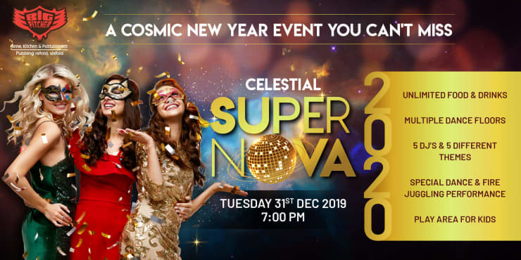 Celestial Supernova - Big Pitcher New Year Event 2020