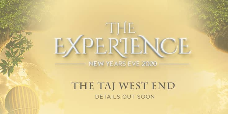 The Experience - New Years Eve At Taj West End